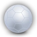 Soccer plain football ball