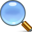 Zoom find magnifying glass search
