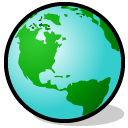 Browser globe world planet