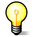Idea jabber lightbulb
