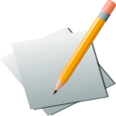 Paper pencil edit write editor