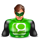 Technorati greenlantern super hero