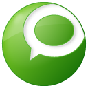 Social technorati button green