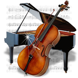 Play instrument cello sound violin string audio chello piano music