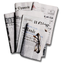 Articles glasses international news reading newspapers