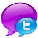Blue logo twitter small