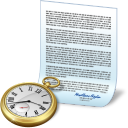 Clock document