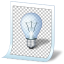 Light bulb idea tip document