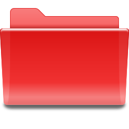 Media player red folder places
