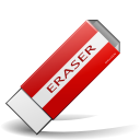 Actions draw eraser
