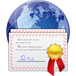 Places server certificate