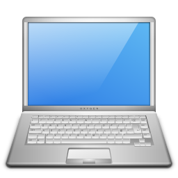 Computer devices laptop usb icon