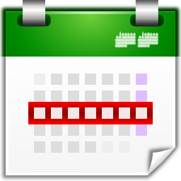 Actions View Calendar Week Oxygen 128px Icon Gallery
