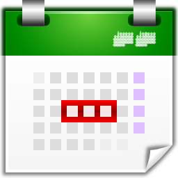 Actions view calendar upcoming days