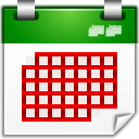 Actions view calendar month