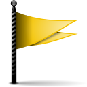 Actions flag yellow