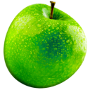 Apple fruit green food