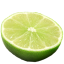 Lime fruit food green citrus