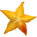 Starfruit fruit sweet yellow star food