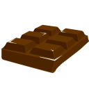 Block chocolate
