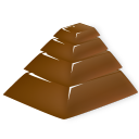 Pyramid chocolate