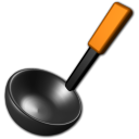 Cooking kitchen tool ladle