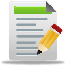 Blog Post Test Write Document Pretty Office Icons Part 5 128px Icon Gallery