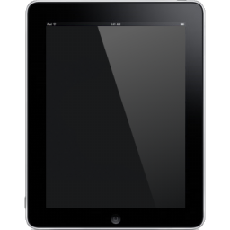 Ipad tablet front computer blank hardware
