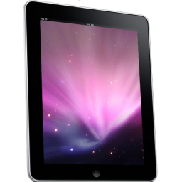 Ipad side tablet space computer hardware background