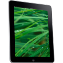 Ipad side tablet grass computer hardware background