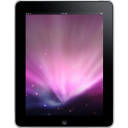 Ipad tablet front computer space hardware background