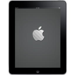 Hardware computer logo ipad tablet apple front