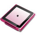 Ipod nano player pink mp3