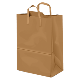 Paperbag shopper bag