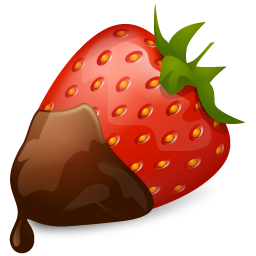 Strawberry chocolate fruit food meal
