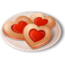 Love favourite fav heart valentine cookies hearts food