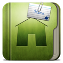 Folder home house building microsoft