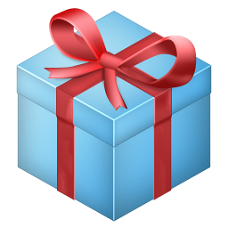 gift box present dropbox christmas christmas social 256px icon