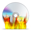 Burn cd disk disc
