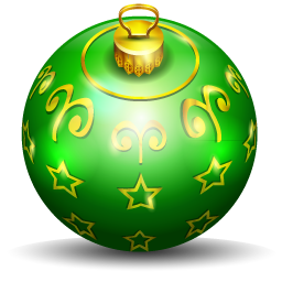 Christmas tree ball sport