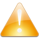 Sign alert alarm arrow