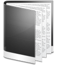 Folder black file document doc paper