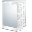 Folder white file doc document calculator paper