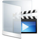 Folder white video movie film videos