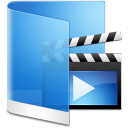 Movie folder video film blue videos