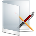 Folder software app application white apps