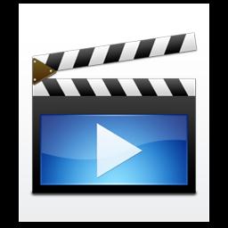 Filetype Video Film Movie / Aeon / 128px / Icon Gallery