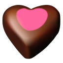Chocolate heart hearts valentine meal love favourite fav food