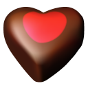 Heart chocolate hearts love valentine meal favourite fav food