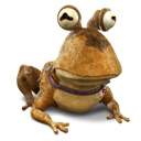 Hypnotoad animal frog toad